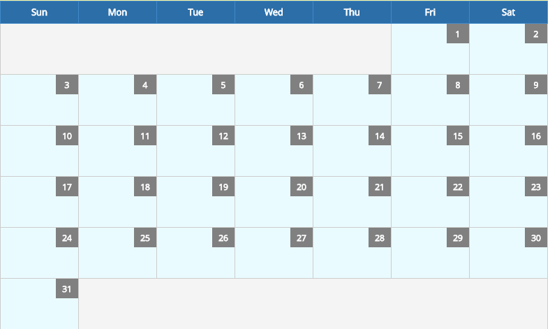 March 2019 Calendar And Holidays